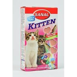 Sanal kočka Kitten srdíčka losos + taurin 40tbl