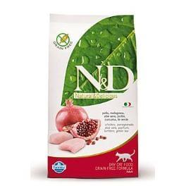 N&D GF CAT Adult Chicken & Pomegranate 1,5kg