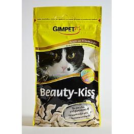 Gimpet kočka Pusinky na srst Beauty-Kiss 50g
