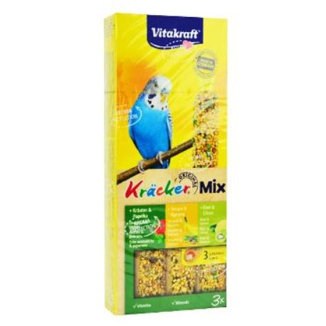 Vitakraft Bird Kräcker fig/sesam/budgies tyč 3ks