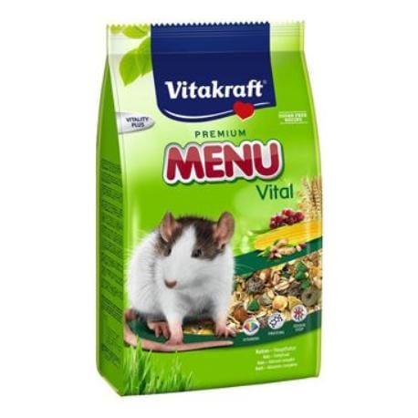 Vitakraft Rodent Rat krm. Menu Vital 1kg