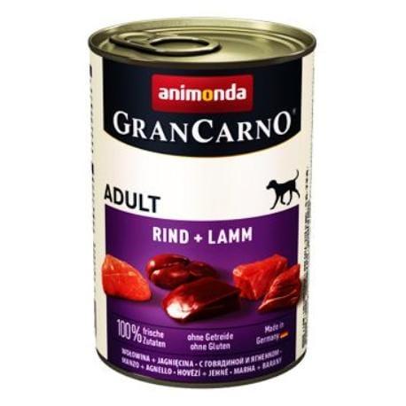 Animonda GRANCARNO konz. ADULT hově/jehněčí pes 400g