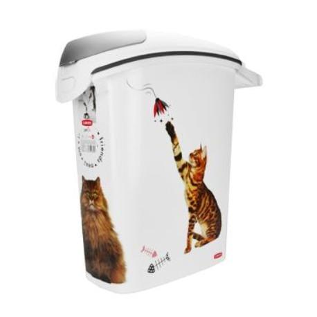 Curver kontejner na suché krmivo 10kg kočka
