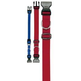 Obojek nylon CLUB C 32cmx10mm červený FP 1ks