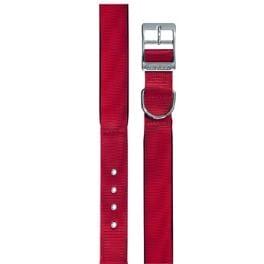 Obojok nylon DAYTONA C 35cmx15mm červený FP 1ks