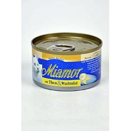 Miamor Cat Filet konzerva tuniak + prepeličie vejce100g