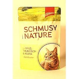 Schmusy Cat Nature Menu vrecko zverina + tuniak 100g