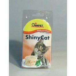 Gimpet mačka konz. ShinyCat kura / krab 2x85g