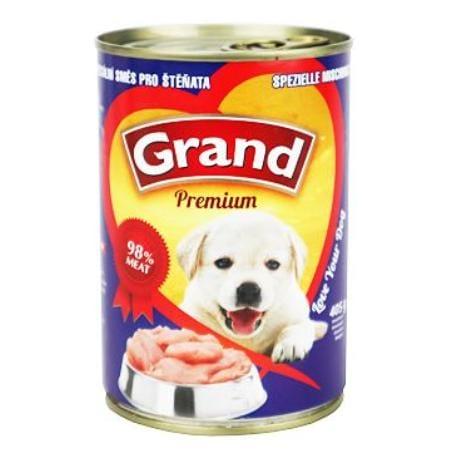 GRAND konz. šteňa špeciálna mäs.zmes 405g