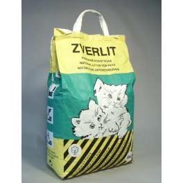 ZVERLIT zelený hrubá Podstielka mačka 6kg