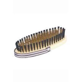 Kefa ovál na ruku mosadzné drôtiky 15x6,5cm Tommi