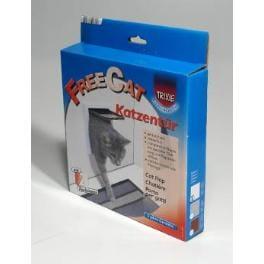 Dvierka mačka plast Biele 2P Freecat Classic TR 1ks
