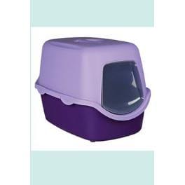 WC mačka kryté domček VICO 40x40x56 TR fialová