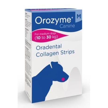 Orozyme enzym.plátky žuvacie pre psov M 141g