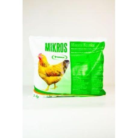 Mikros DN pro nosnice plv 3kg
