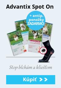 Advantix + ponožky zadarmo