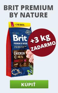 Brit Premium Dog by Nature 15 + 3 kg