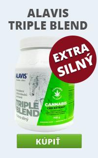 Alavis Triple Blend extra silný cannabis