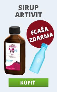 Artivit + fľaša