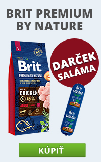 Brit Premium by Nature + saláma
