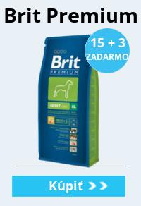 Brit premium dog 15+3 zadarmo