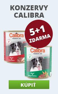 Calibra konzervy
