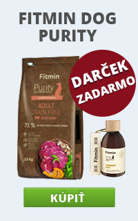 Fitmin Dog Purity + lososový olej