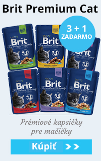 Kapsičky Brit Premium 2 + 1 ZADARMO